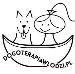 logo dogoterapia w Łodzi