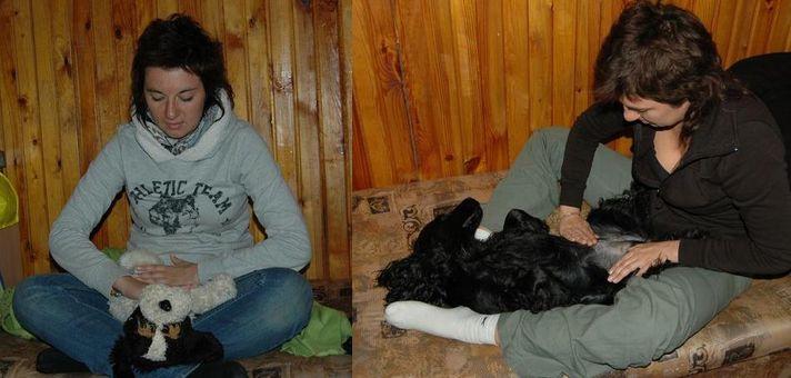 przedpremierowe warsztaty masażu GaSa - Kasia i Lilo - Futrzon