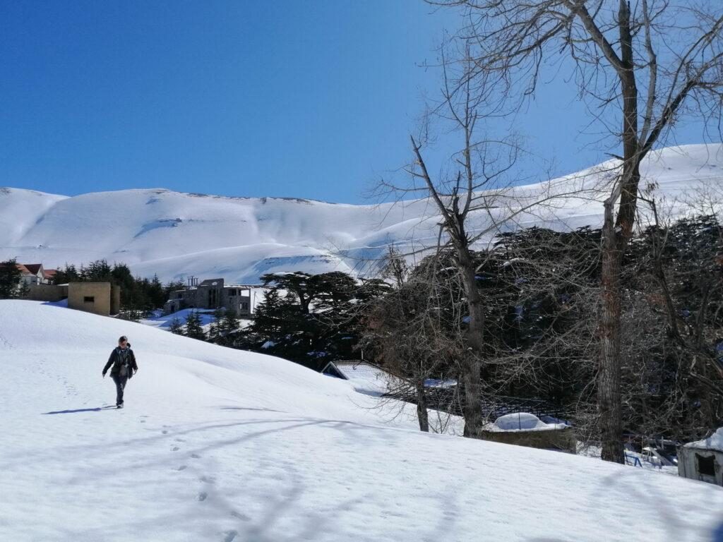 powolny spacer po Libanie