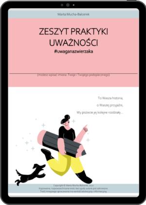 okładka zeszyt praktyki #uwaganazweirzaka